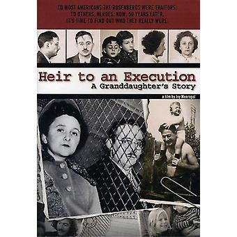 Heir to an Execution [DVD] USA import