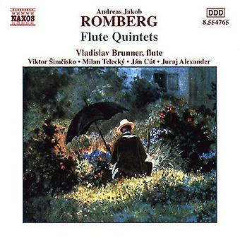 A. Romberg - Romberg: Flöjt kvintetter [CD] USA import