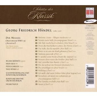 G.F. Handel - el Mesías (extractos) [CD] USA importar