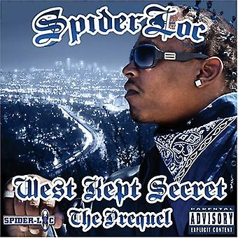 Spider Loc - West holdt Secret: The Prequel [CD] USA import