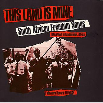 This Land Is Mine: South African Freedom Songs - This Land Is Mine: South African Freedom Songs [CD] USA import
