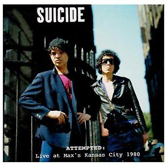 Suicide - Attempted-Live at Max's Kansas City 1980 [CD] USA import
