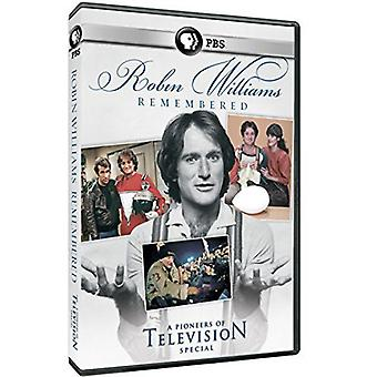 Robin Williams Remembered - Pioneers of Television [DVD] USA import