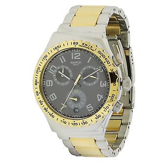 Swatch dorado juvenil Mens Watch YVS427G
