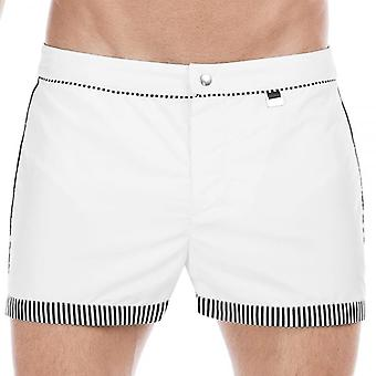 Chef de mission Santa Cruz Bond Swim Shorts, blanc, X-Large