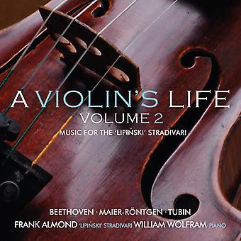 Almendra, Franco / Wolfram - vida 2 de violín: música para la importación de los E.e.u.u. Lipinski Strad [CD]