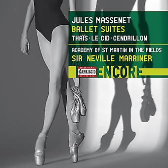 Massenet / Marriner - Jules Massenet: Ballet Suites [CD] USA import