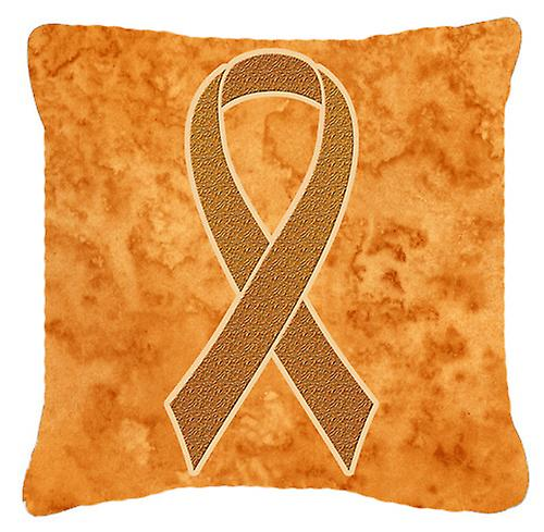 Leucémie Tissu Coussin Orange Sensibilisation Ruban Décoratif Pour Toile y80PvNnwmO