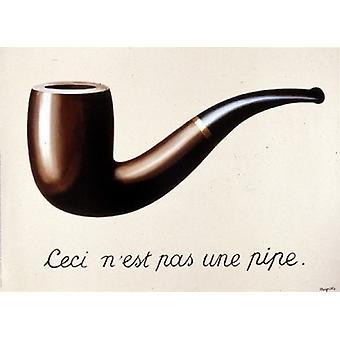 La Trahison Des Images 1929 Poster Print by Rene Magritte (14 x 11)