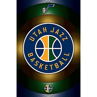 Utah Jazz - Logo 16 Poster Poster Print