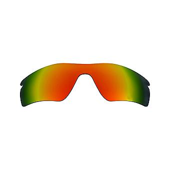 Replacement Lenses Compatible with OAKLEY RADAR PATH Polarized Red Mirror