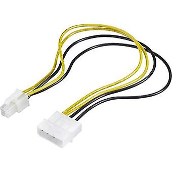 Current Cable [1x ATX plug 4-pin - 1x IDE power plug 4-pin] 0.30 m