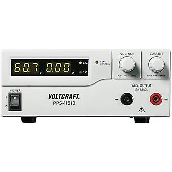Bench PSU (adjustable voltage) VOLTCRAFT PPS-11810 1 - 18 Vdc 0 - 10 A 180 W USB , Remote programmable No. of outputs 2