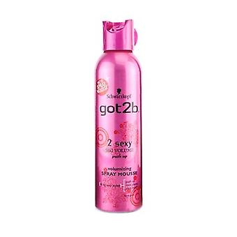 Schwarzkopf got2b 2 sexy Volumizing Spray Mousse