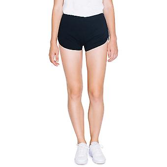 American Apparel Womens/Ladies Interlock 100% Cotton Running Shorts