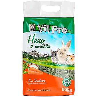 Ica Heno Vit Pro 500Gr with Carrot (Small pets , Hay)