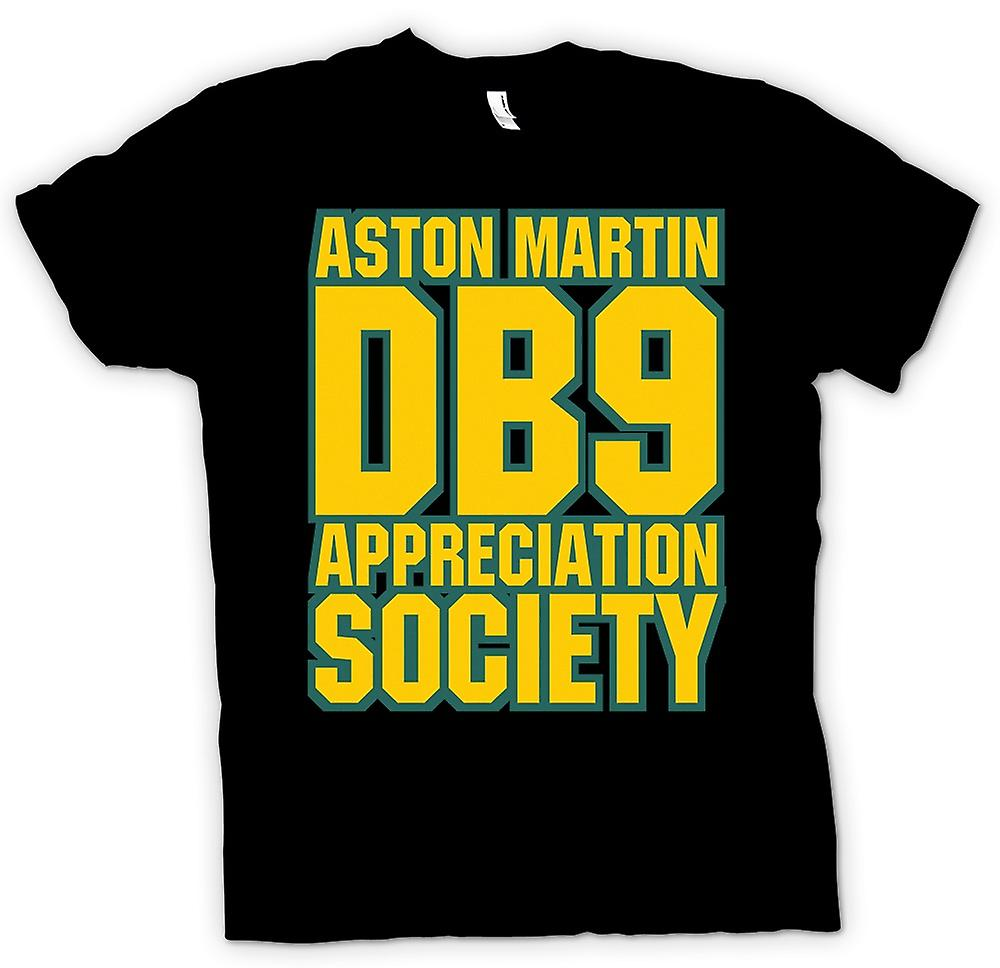 Womens T-shirt - Aston Martin DB9 Appreciation Society