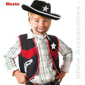 Costume de Cowboy shérif gilet Star Western Sheriff kids veste costume enfant shérif