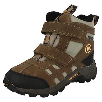 Childrens Merrell Waterproof Ankle Boots Moab Polar