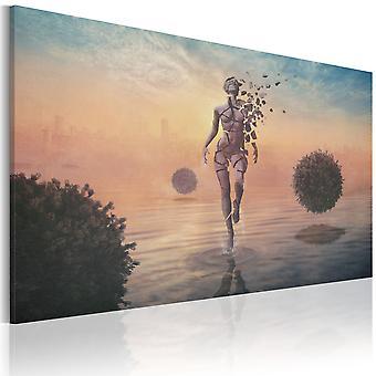 Canvas Print - Lightness of heaviness