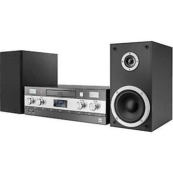 Dual DAB-MS 130 Audio systeem Bluetooth, AUX, CD, DAB +, FM, USB, 2 x 25 W Black