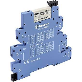 Finder 39.11.0.024.0060 - MasterBASIC elektromekaniska Relay Interface modul, EMR, SPDT-CO 250V AC 6A
