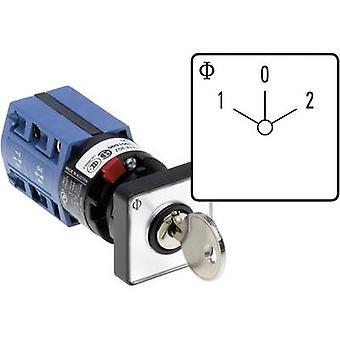 Kraus & Naimer CG4 A210-600 FS2 V750D/2H Changeover switch 10 A 1 x 60 ° Grey, Black 1 pc(s)