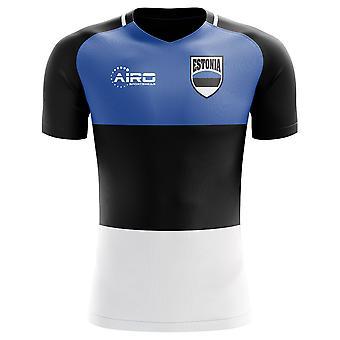 Koszulka piłkarska Home Concept 2018-2019 Estonii (dla dzieci)