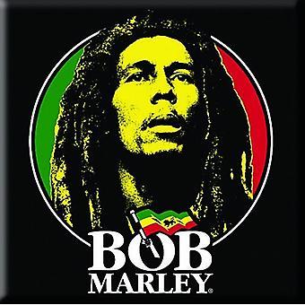 Bob Marley-gezicht stalen Fridge Magnet