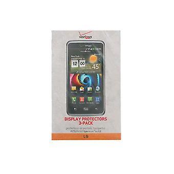 Verizon Schutzfolien für LG PARA Spectrum - 3er-Pack