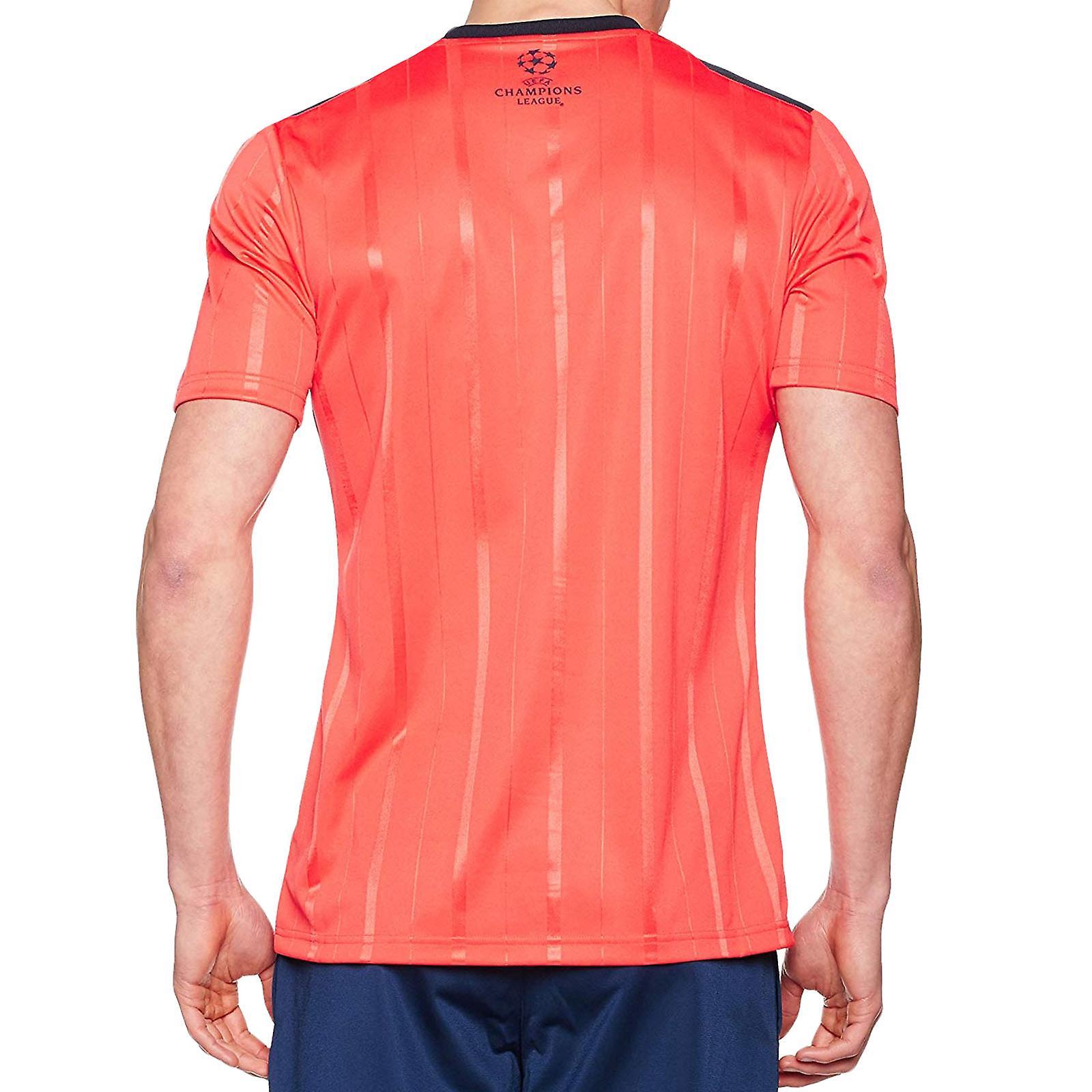 Adidas Performance heren Climacool korte mouw UCL voetbal scheidsrechter Jersey - rood