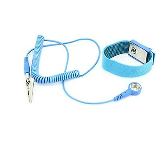 Antistatic adjustable wrist strap anti static wristband with cable repair