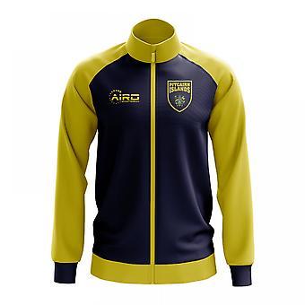 Pitcairn Islands Concept Football Track Jacket (Blue) - Kids