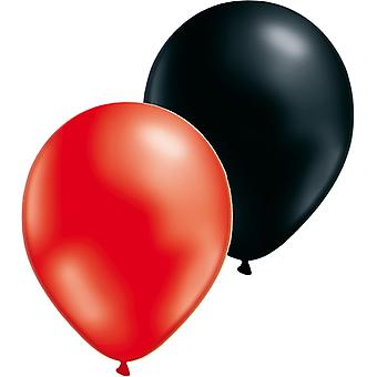 Ballons mélangent 24-pack-rouge/noir