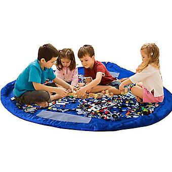 Storage bag/play mat for Toys-Blue