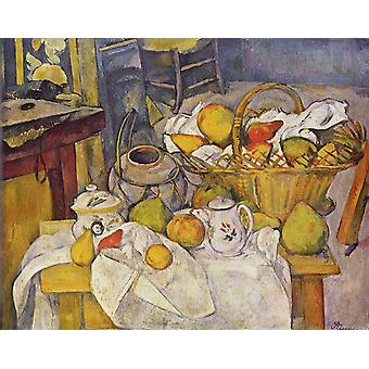 Still Life with Ginger Pot, Paul Cezanne, 50x40cm