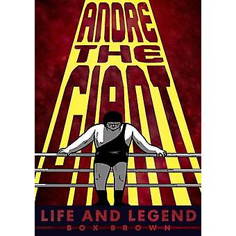 Andre the Giant Box Brown - livre 9781596438514