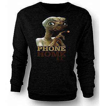 Sweatshirt ET telefon hjem - søte - Alien