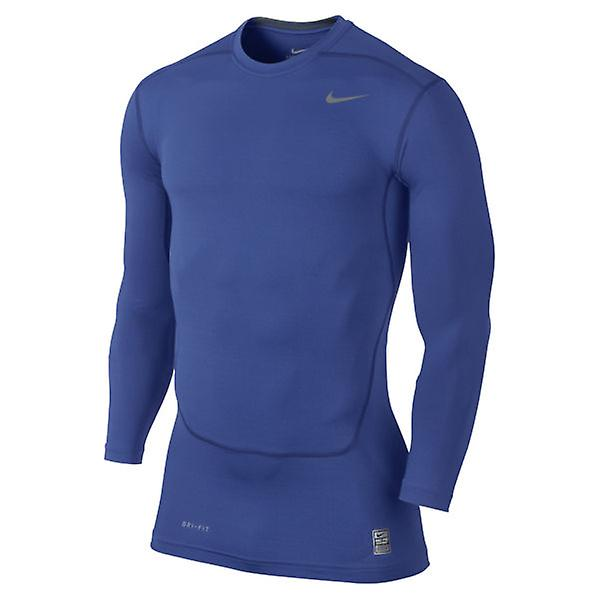 Nike Core Compression 2.0 manica lunga Top (Royal)
