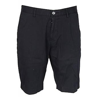 Hugo Boss Slice Cotton Black Chino Shorts