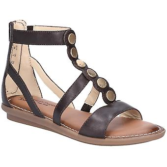 Hush Puppies Womens Olive Gladiator Zip Up Strappy Sandals