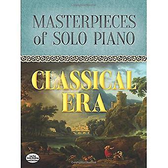 Mästerverk av Solo Piano: klassiska eran
