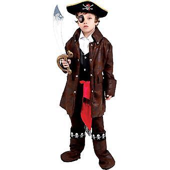 Karibisk pirat barn kostym