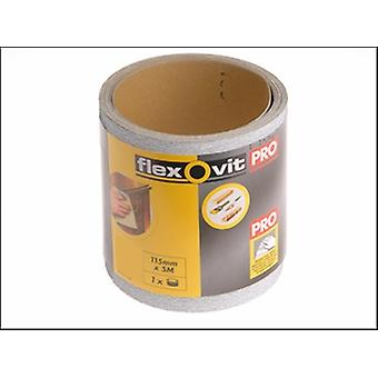 Flexovit Haute Performance ponçage Roll 115 mm x 10 m moyen 80g