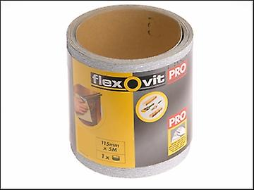 Flexovit High Performance Sanding Roll 115mm x 50m Extra Coarse 40g