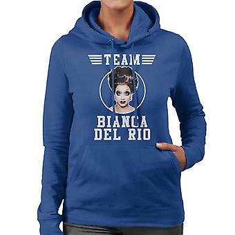 Team Bianca Del Rio Women's Hooded Sweatshirt