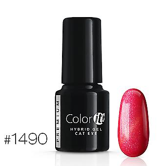 Gel Polish-Color IT Premium-Cat Eye-* 1490 UV gel/LED