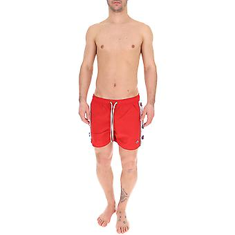 Champion Red Nylon Trunks