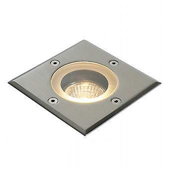 Endon GH88042V Pillar Outdoor Square Ground Recessed Light in Polished