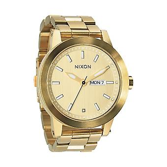 Nixon lo sperone Herrenuhr All Gold (A263502)